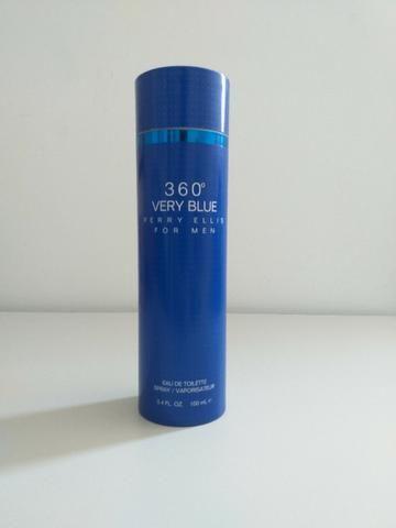 Perfume 360º Very Blue Perry Ellis Eau de Toilette 100ml Original