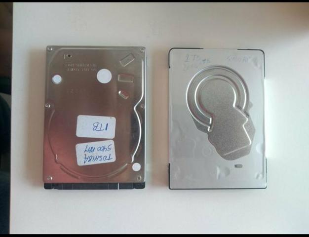 HDs de Notebook 1tb