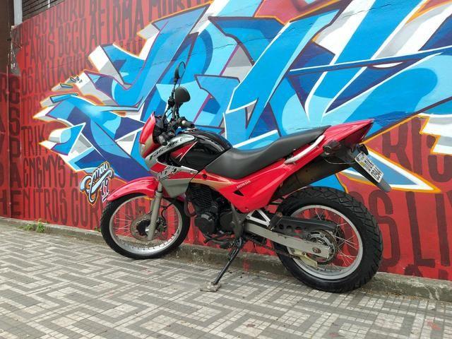 Honda nx4 falcon 2005 troco por moto de menor cilindrada - Foto 11