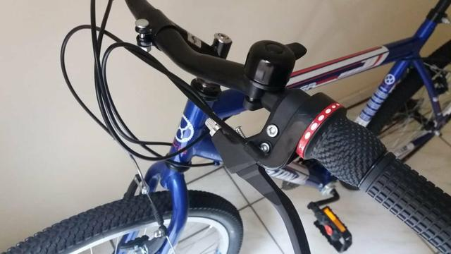 Vendo bicicleta Azul - Foto 3
