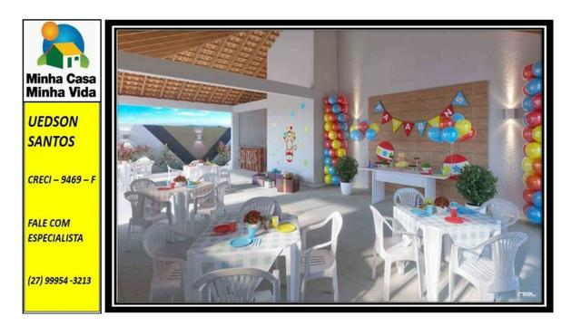 UED-19 - Apartamento 2 quartos vista da reserva - Foto 2