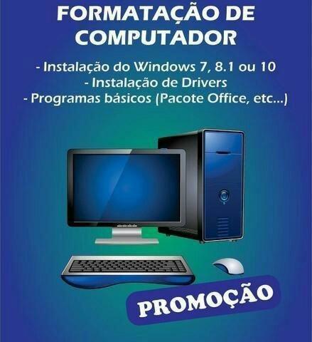 Formatação de computadores de imediato