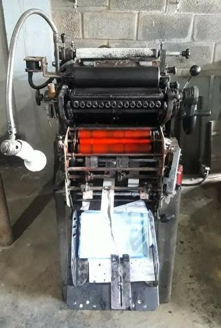 Maquinário De Produção Gráfico Completo