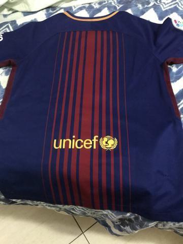 Camisa oficial do barcelona 17/18