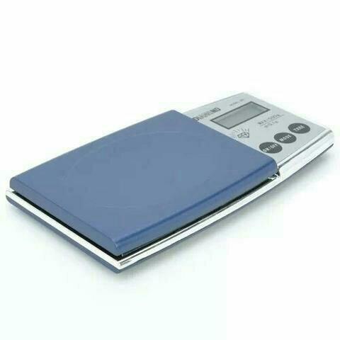 Mini balança digital de precisão décimo de grama 0,1g a 500g - Foto 3