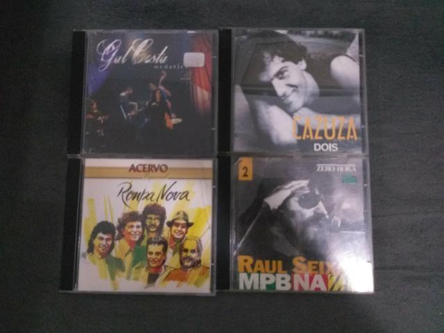 CD do Cazuza, Gal Costa Acústico, Raul Seixas e Roupa Nova