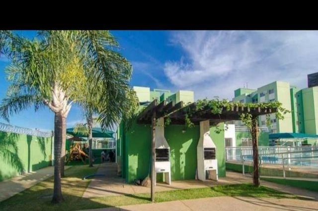 Apartamento em cond club 2qtos 1 vaga lazer completo ac financiamento e carro - Foto 19