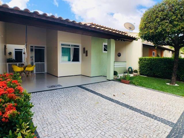 CA0923 - Casa plana com 3 suítes, dependência e lazer completo em condomínio fechado - Foto 2