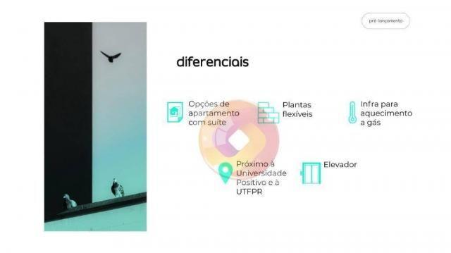 Apartamento com 2 dormitórios à venda, 48 m² por R$ 214.900,00 - Campo Comprido - Curitiba - Foto 4