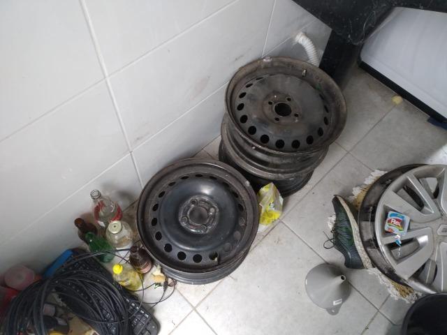 Rodas originais do Renault Logan - Foto 2
