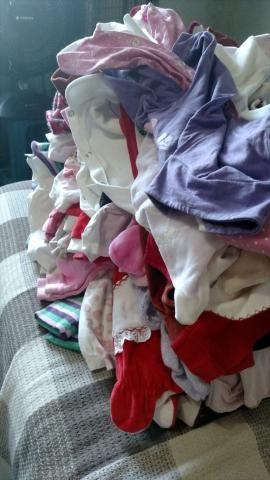 Lote de roupa de bb menina - Foto 2