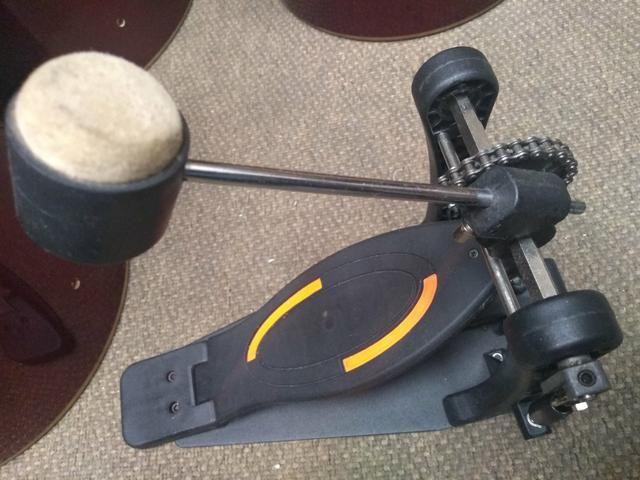 Pedal bateria rmv a unidade - Foto 3
