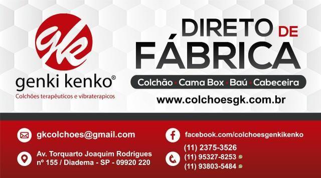 Cama solteiro Box com baú direto dr fábrica / Parcelas de; - Foto 3