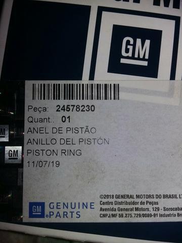 Anéis de pistões 1.8 GM original - Foto 2