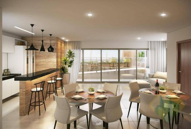 Lançamento! - Apartamento Duplex com 3 dormitórios à venda, 144 m² por R$ 605.303 - Aerocl - Foto 4