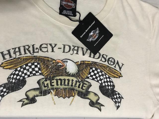 Camiseta Harley Davidson Manga Longa - Cotton Slim Fit