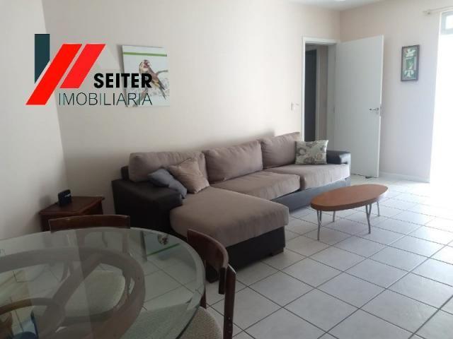 Apartamento mobiliado de 2 dormitorios suite e sacada com churrasqueira no itacorubi - Foto 17