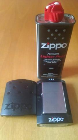 Isqueiro zippo usa original com embalagem+manual+fluido novo!!!