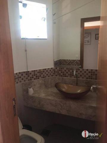 Casa com 3 dormitórios à venda, 234 m² por r$ 550.000,00 - residencial portal do cerrado - - Foto 12