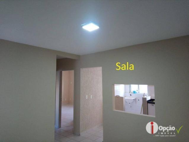 Apartamento à venda, 58 m² por r$ 120.000,00 - jardim suíço - anápolis/go - Foto 2