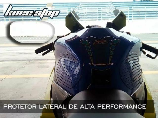 Adesivos Protetores lateral tanque moto - Foto 3