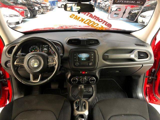Jeep Renegade Longitude 1.8 Flex Automático 2016 * Baixa KM - Foto 12