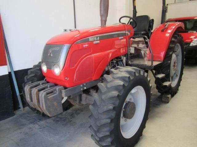 Trator agrale 5075- 4 ano 2011 4x4 com apenas 2500 horas de uso novissimo - Foto 3