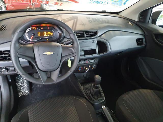 Onix sedan Joy Plus 1.0 0km! 0 entrada - Foto 4
