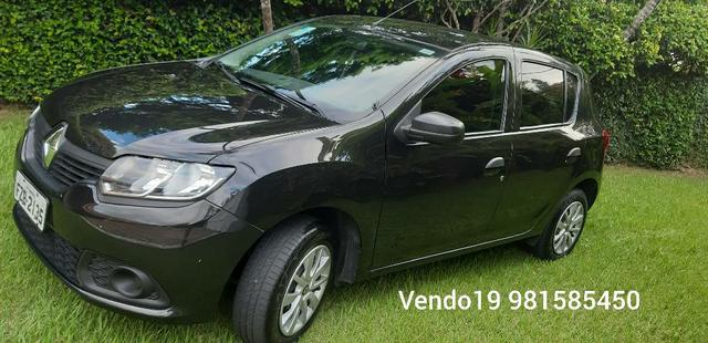 Vendo Sandero authentique 1.0 ano 2017 bloco 3 cilindros  - Foto 4