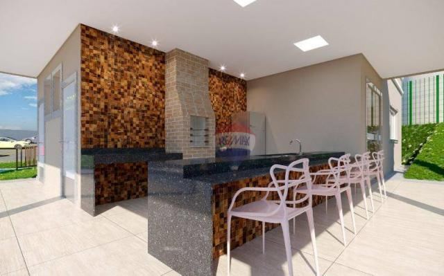 Apartamento com 2 dormitórios à venda, 38 m² por R$ 145.063,00 - Fragoso - Olinda/PE - Foto 4