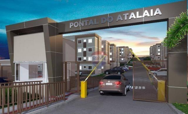 Apartamento com 2 dormitórios à venda, 38 m² por R$ 145.063,00 - Fragoso - Olinda/PE