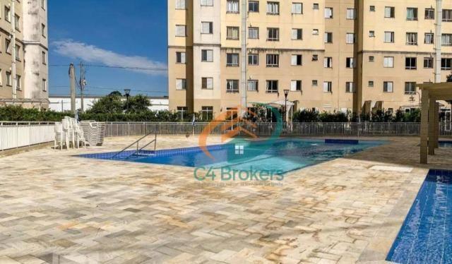 Apartamento com 2 dormitórios para alugar, 45 m² por R$ 1.547,00/mês - Ponte Grande - Guar - Foto 17