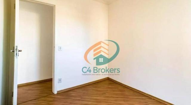 Apartamento com 2 dormitórios para alugar, 45 m² por R$ 1.547,00/mês - Ponte Grande - Guar - Foto 10