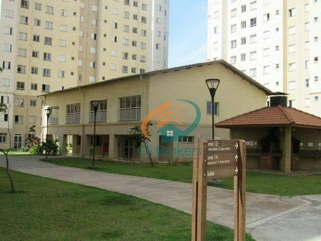 Apartamento com 2 dormitórios para alugar, 45 m² por R$ 1.547,00/mês - Ponte Grande - Guar - Foto 14
