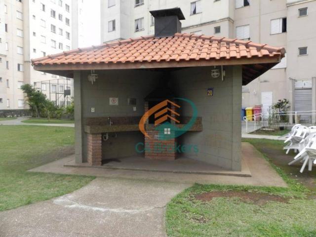 Apartamento com 2 dormitórios para alugar, 45 m² por R$ 1.547,00/mês - Ponte Grande - Guar - Foto 16