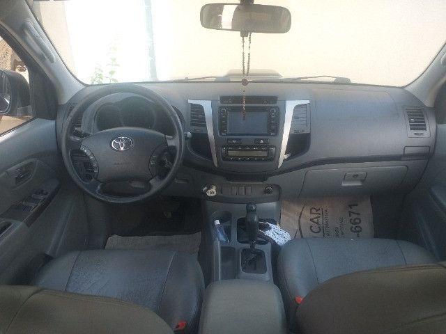 Hilux SRV Diesel Automática 4x4 2011 - Foto 7