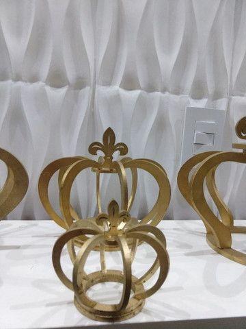 Kit coroa para decoração - Foto 2