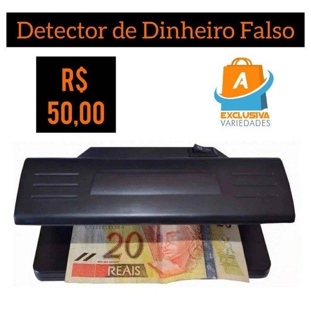 Detector de Dinheiro Falso