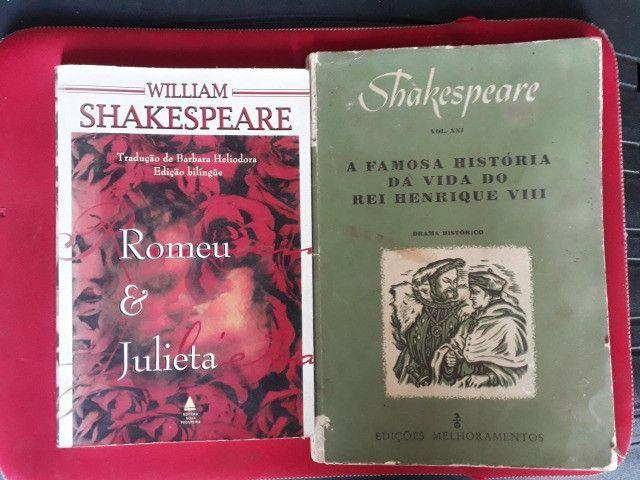 Livros: Romeu e Julieta e A Famosa Hist. do Rei Henrique VIII (William Shakespeare)