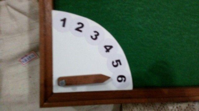 Tabuleiro + relógio para dominó  - Foto 2