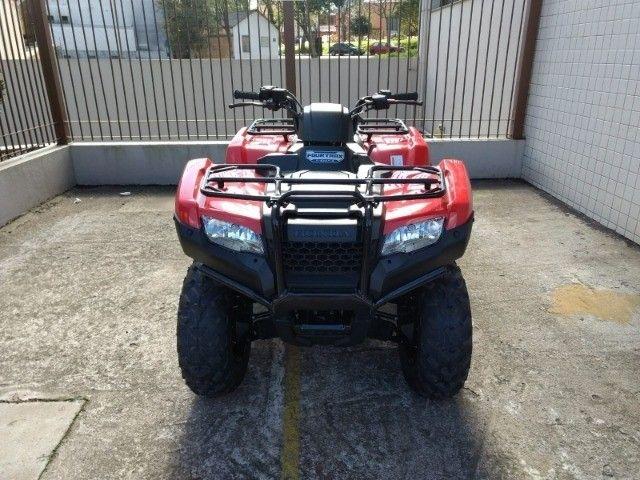 Honda TRX 420 FourTrax 4x4 FM Zerado