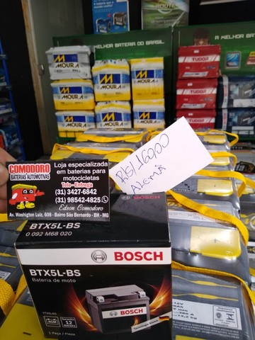 Imperdvell baterias a preço de fabrica 5,6,7AH fan,cg,xre,factor,fazer,biz,pcx,ybr,lead. - Foto 5