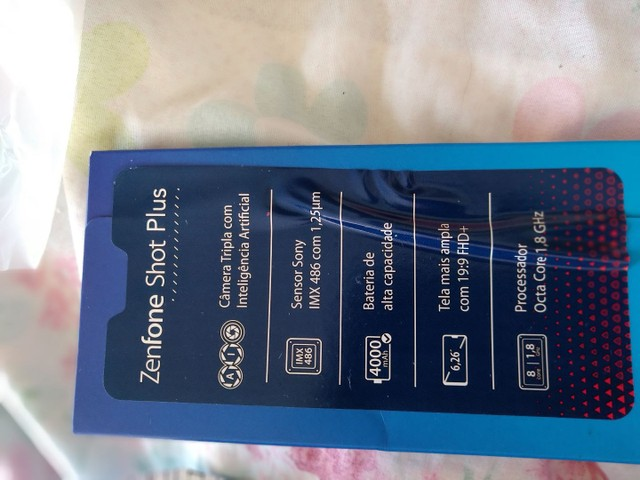 Vendo ou troco Celular  Asus Max shot 128gb 64+64 leia o anúncio! - Foto 5