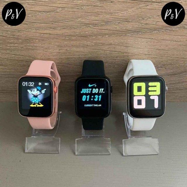 PROMOÇÃO: Relógio SmartWatch IWO MAX 2.0 - 12X No Cartão + Entrega Grátis - Foto 4