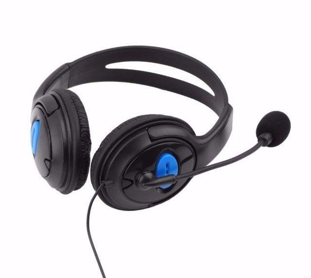 Fone Headset Gamer Microfone Xbox One Pc Playstation 4 Mobile Novo Garantia - Foto 2