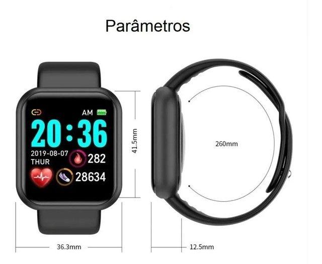 Relogio Inteligente Smartwatch D20 Bluetooth - Foto 2