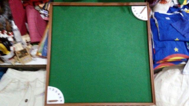 Tabuleiro + relógio para dominó  - Foto 4