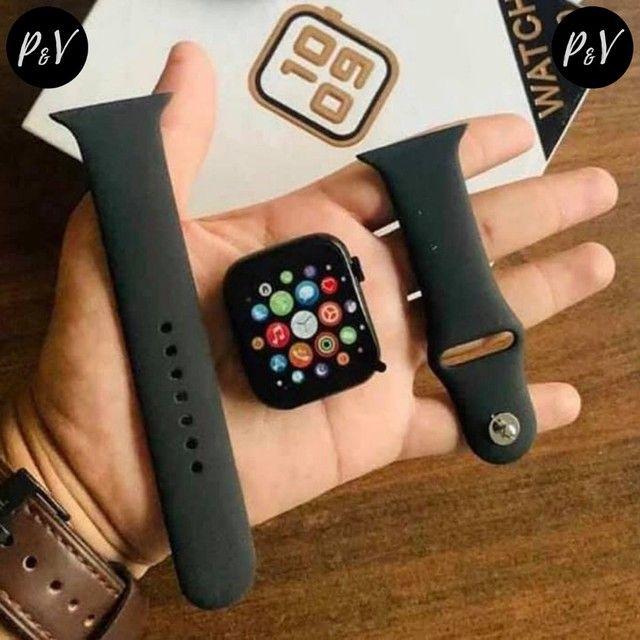 PROMOÇÃO: Relógio SmartWatch IWO MAX 2.0 - 12X No Cartão + Entrega Grátis - Foto 2