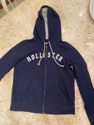 Casaco Hollister Tam P (serve M)
