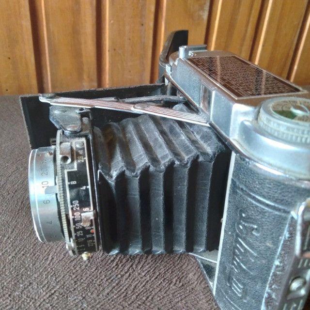 Câmera Fotográfica de Fole Alemã Franka Solida III. Antiga Zona US 1951 VER anúncio  - Foto 4